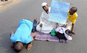 Christians, Muslims Unite At Nigeria Protest